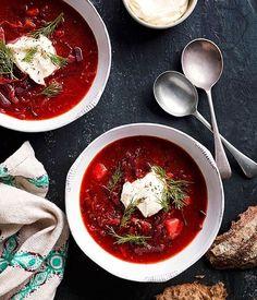 Borscht - Beef and beet stew