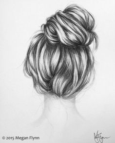 sketch book ideas, drawing hairstyles