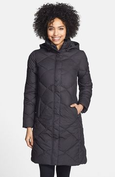 North face metro parka black