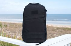 GORUCK. A simple black bag, comfortable in any and every environment imaginable.
