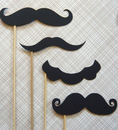 I want to have a moustache party.