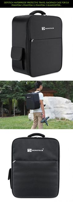 Depstech Waterproof Protective Travel Backpack Case for DJI Phantom 1, Phantom 2, Phantom 3 Quadcopter, Comfortable and Portable-Black #technology #plans #shopping #3 #tech #camera #drone #racing #gadgets #parts #fpv #standard #dji #products #kit #phantom #case