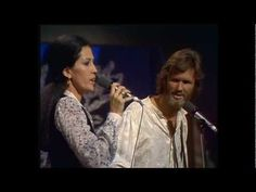 Kris Kristofferson & Rita Coolidge - Please don't tell me how the story ends (1978)They'd sing so real nice harmony together, it sounds so amazingly beautiful ...  This song is just perfect - the tune, the lyrics, the harmonies ... awesome ... How can one dislike it??    ... this is from Johnny Cash's Christmas Show 1978