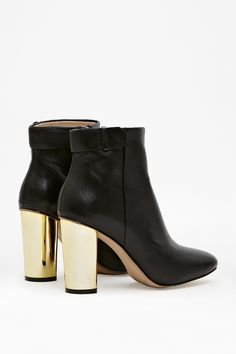 KRISTINA METALLIC HEELED BOOTS - Shoes - French Connection Canada