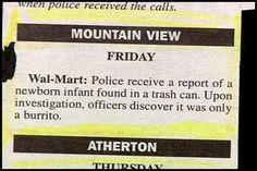...Nacho average police call