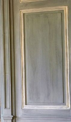 """BEAUTIFUL Paneling for an Entry Hall, Bedroom, Dining Room, or Powder Room... Wellllll, actually, this would look great anywhere in a stylish home!  From the  """"Belgian Pearls""""  blog."""