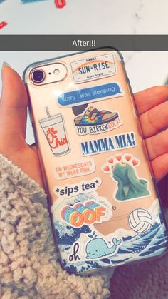 diy phone case 766878642779089916 - Cute iPhone 8 phone case Source by Tumblr Stickers, Phone Stickers, Cute Stickers, Diy Iphone Case, Iphone Phone Cases, Summer Iphone Cases, Lg Phone, Ipod, Coque Smartphone