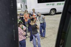 Paul Jeschke with Illinois Farm Families Field Moms.