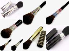 Swarovski Crystal Make Up brushes