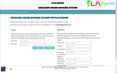 Just updated user interface for PLAYtarium with a custom design 👍 After School Club, Cob, User Interface, Childcare, Custom Design, Parenting, Child Care, Childcare Activities, Natural Parenting