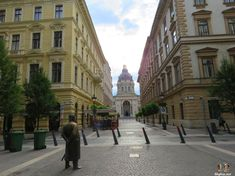 views towards st. Stephen's basilica