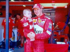 Michael and Mick Schumacher