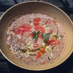 Farm Fresh Gazpacho Recipe #glutenfree #summer #recipe