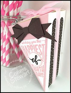 Cutie Pie Thinlit and Sweet Stack stamp set from Stampin' Up - Order yours at www.SimplySimpleStamping.com