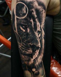 tatuajes del rey de la selva
