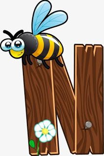Escuela infantil castillo de Blanca: ALFABETO: LA GRANJA Animal Alphabet, Animal Letters, Wood Animal, Baby Design, Alfabeto Animal, Alphabet Templates, Cartoon Kunst, Letter N, Alphabet And Numbers