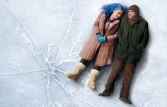 "Eternal Sunshine of the Spotless Mind. Just watched this movie again last night. Gut wrenching and wonderful. I just love it. ""Meet me in Montauk...."" I melt."