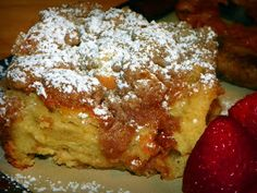 From the mind of Laura........: Baked French Toast Casserole