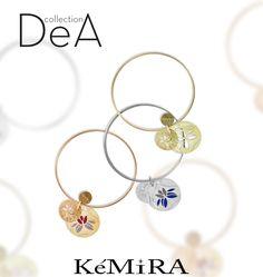 """Oggi vi mostriamo i nuovi bangle della collezione """"Dea"""", sono realizzati in metallo galvanizzato e smalto.  E tu quale preferisci? <3"""
