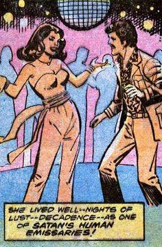 Living the comic disco life as 'One of Satan's human emissaries'