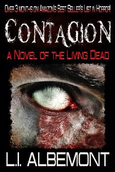Contagion: A Novel of The Living Dead by L I Albemont (2012) - - -  A remote mountain town is isolated by a snowstorm as an ancient evil, gone pandemic, turns the residents into the living dead. Stranded by the weather, hiding, a small group of survivors follow the progress of the disease as society around them and around the world begins to break down.