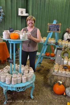 Funky Junk Interiors: Bella Rustica, the day of - River City Candles - Decatur