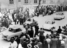 Vintage Photos of the Creative Postwar Microcars of Hungary Microcar, Motorcycle Engine, Automobile Industry, Car Wheels, Small Cars, Hungary, Vintage Photos, Ale, Awesome