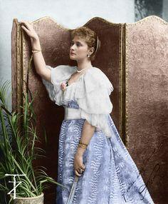 Princess Alix of Hesse 1894 . by tashusik