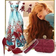"""Red Seas"" by jacque-reid on Polyvore"