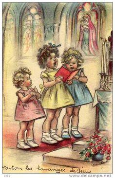 Cartes Postales > Thèmes > Enfants > Cartes humoristiques / germaine…