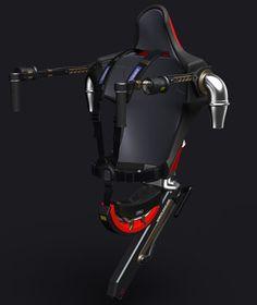 TECNOLOGIA - Resque Water-jet Pack, uno de esos alucinantes inventos que nos hacen pensar que estamos en el futuro de Minority Report