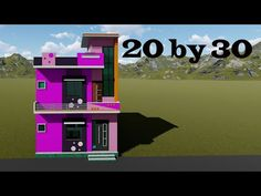 20 by 30 3d house plan with interior in hindi # 20*30 small home design # 20 by 30 house plan - YouTube 20x30 House Plans, 3d House Plans, Small House Design, How To Plan, Interior, Youtube, Home, Indoor, Design For Small House