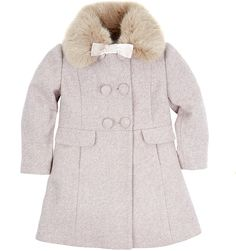 S. Rothschild Little Girls' or Toddler Girls' Beret & Bow Coat ...