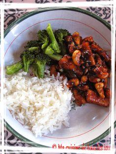 Sauté de tofu aux noix de cajou Tofu Recipes, Asian Recipes, Whole Food Recipes, Vegetarian Recipes, Snack Recipes, Cooking Recipes, Healthy Recipes, Snacks, Veggie Dishes