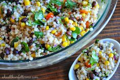 a healthier, fitter ME!: Mexican Inspired Pearl Couscous Salad