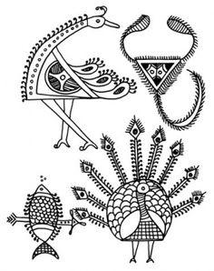 Этно-орнамент Индии
