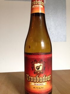 Troubadour - Magma. 330ml, 9%. Brouwerij The Musketeers, Ursul, België.