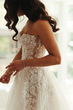Beaded Sheer Galia Lahav Wedding Dress - Even a Micro Wedding Deserves an amazing Dress