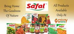 Whole Range Of Safal Products Available Only At Grocery Mantra https://www.grocerymantra.com/safal/ #OnlineSuperMarket #OnlineGroceryShopping #TingTing #JaiHind #SaveWater