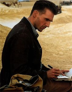 """Ralph Fiennes in """"The English Patient"""" as Count Almàsy"""