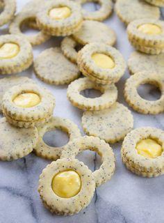 Seed Cookies, Linzer Cookies, Crazy Cookies, Cut Out Cookies, Chocolate Whoopie Pies, Chocolate Chip Cookies, Lemon Curd Filling, Mint Chocolate Chips, Fresh Lemon Juice