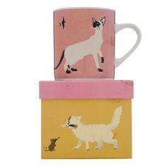 Budd+Finn - Meow Cat Mugs