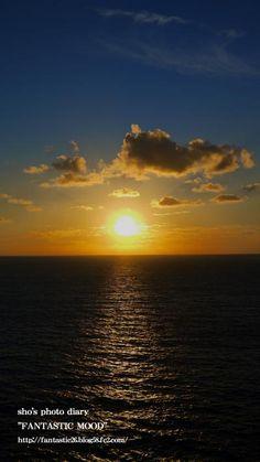屋久島・夕日/Yakushima・Setting sun