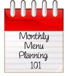 Mm Planning out a menu for a month isn't as hard as it seems! It takes a little time and creativity at first, but once you get into the swing of it, you'll find it saves time and money in…
