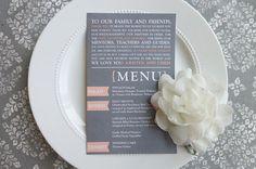 Flag+Ultra+Trendy+Wedding+Reception+Menu+by+ThatPrettyInvitation,+$25.00
