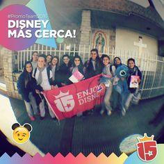 Las chicas de #Guadalupe de #Rosario con el #promoTeam2016 de #enjoy15!