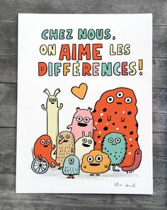 Un nouveau print French Teaching Resources, Teaching French, Teacher Resources, Teaching Ideas, Education Positive, Science Education, Elise Gravel, High School French, French Expressions