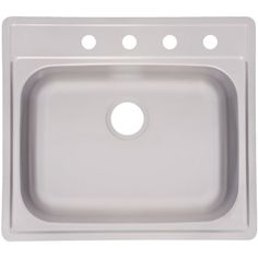 """Kindred FSS804NB Single Bowl Stainless Steel 25"""" x 22"""" in Topmount Sink *** Be sure to check out this awesome product. (This is an affiliate link) #KitchenBathFixtures"""