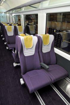european train seat design - Google 検索