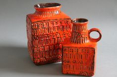 West German pottery- my favourite!